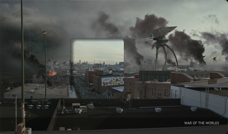 """Кадр из фильма """"Война миров"""""""