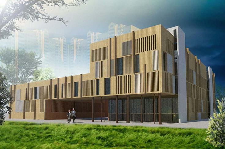 Проект поликлиники в Новых Ватутинках