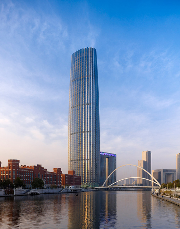 Небоскреб Tianjin World Financial Center