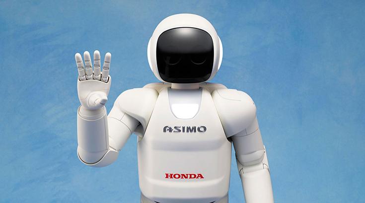 Человекоподобный робот ASIMO от Honda