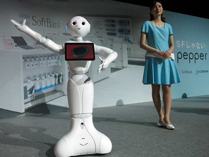 Презентация робота Pepper от компании Softbank