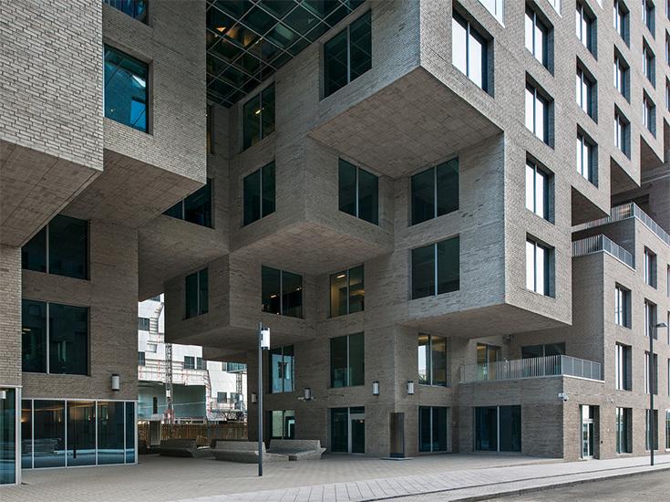 Здание банка DNB по проекту MVRDV