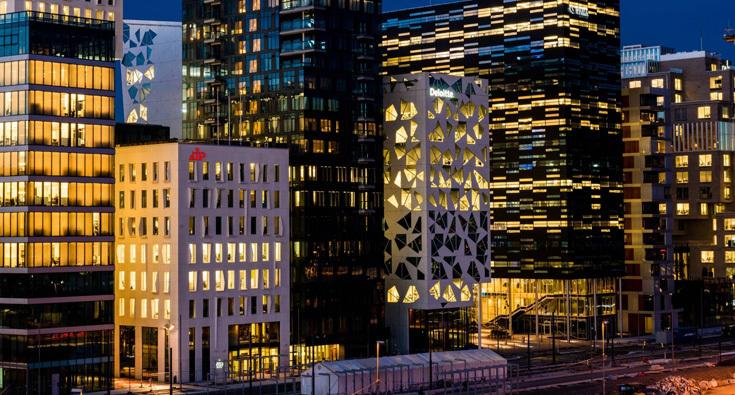 Квартал «Штрих-код» в Осло: изобретая набережную