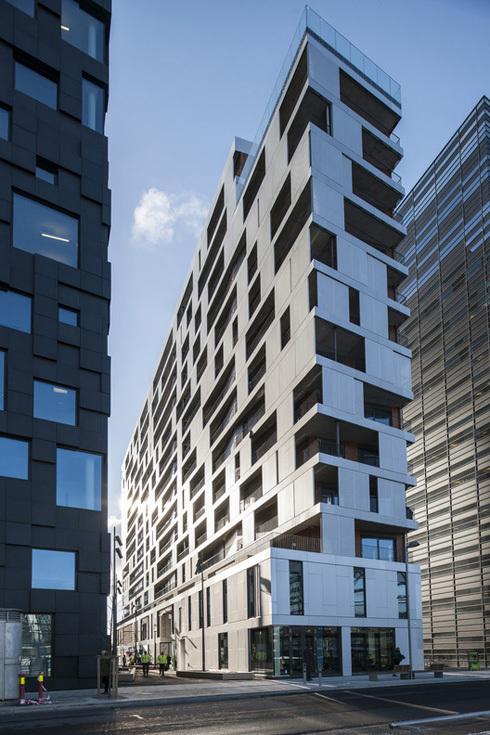 Жилое здание по проекту Mad Architects