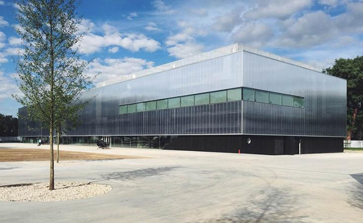 """Здание Музея современного искусства """"Гараж"""", реконструированное Рем Колхасом в 2015 году"""