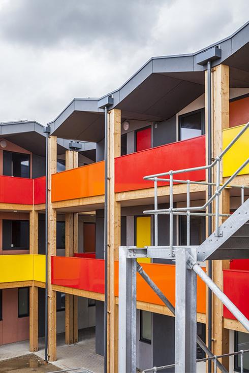 Модульные жилые дома Y:Cube в Лондоне, архитектор Ричард Роджерс