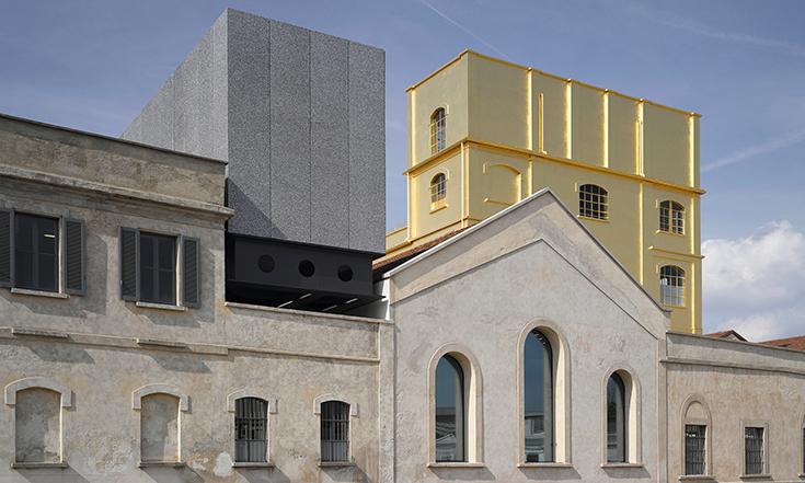 Здание Фонда Prada в Милане, 2015. Бюро Рема Колхаса OMA