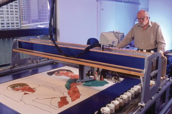 Гарольд Коэн и программа AARON в творческом процессе