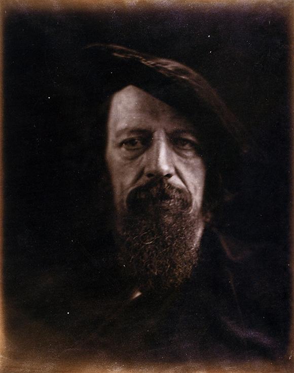 Фотопортрет Альфреда Теннисона, сделанный Джулией Кэмерон
