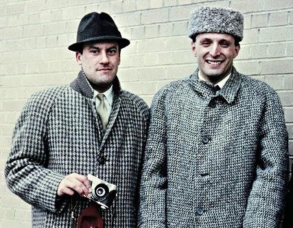 Ричард Роджерс и Норман Фостер в Йельском университете, 1962 год.