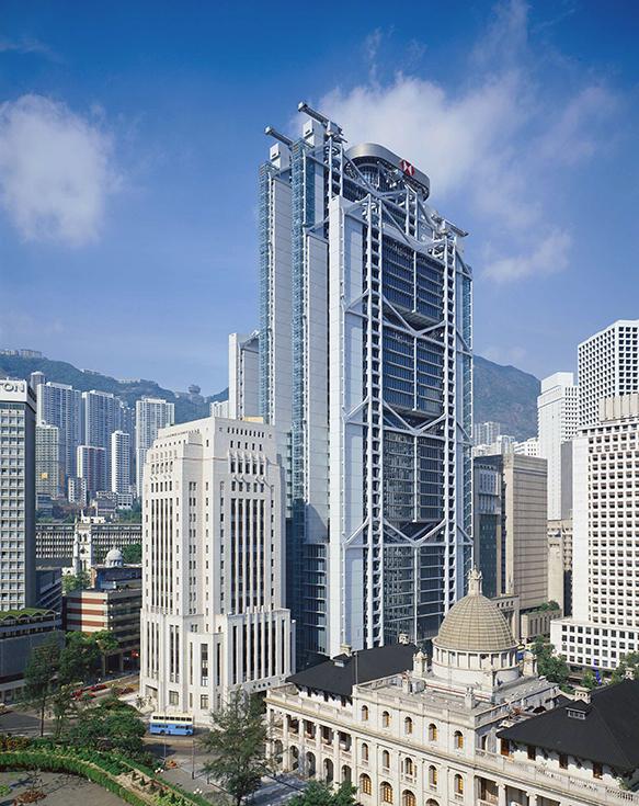 Здание банка HSBC в Гонконге