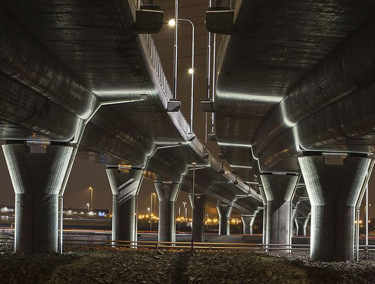Светодизайн городского пространства Йохана Морица