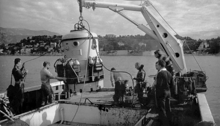 Погружение подводного аппарата