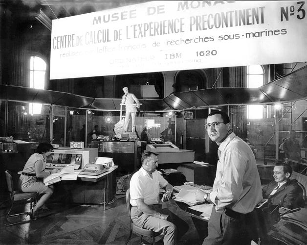 Центр расчетов эксперимента Precontinent № 3 в Музее Монако