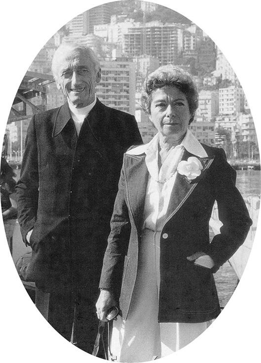 Жак-Ив и Симона Кусто
