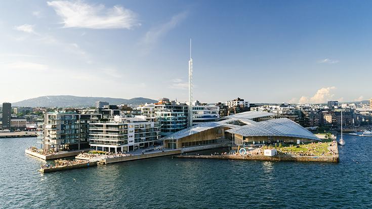 Музей современного искусства в Осло Astrup Fearnley