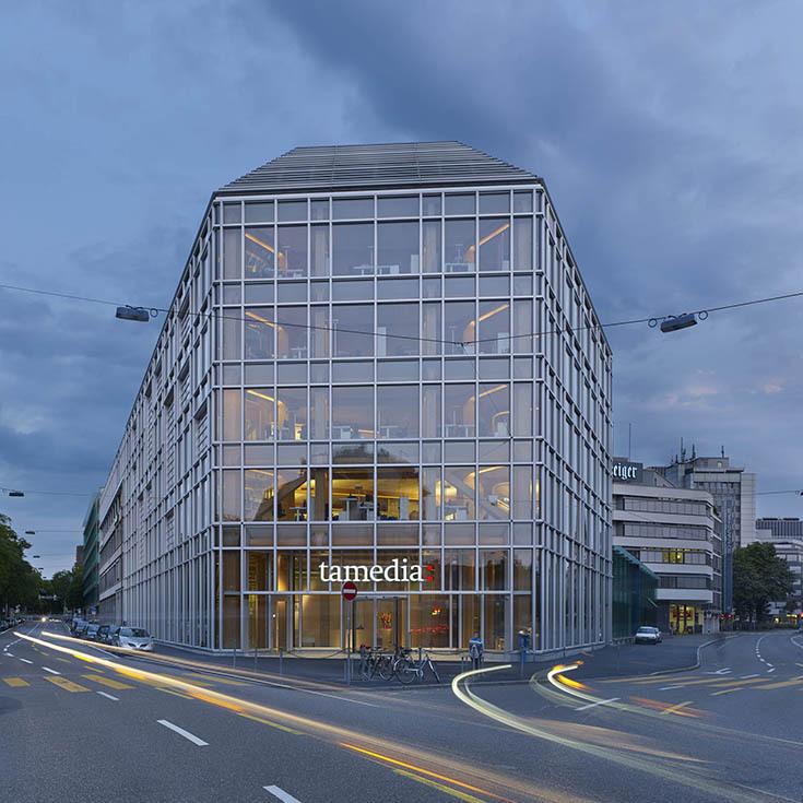 Здание компании Tamedia в Цюрихе