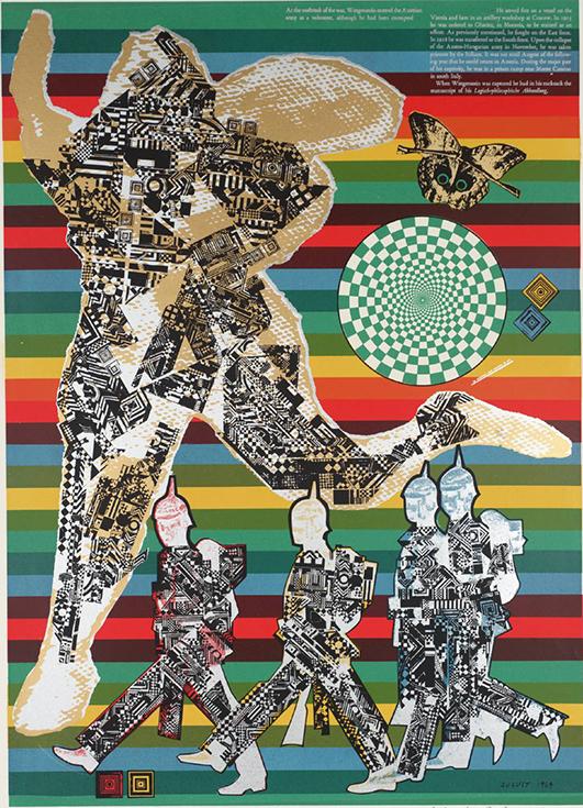"""Витгенштейн солдат"", Эдуардо Паолоцци, 1965"