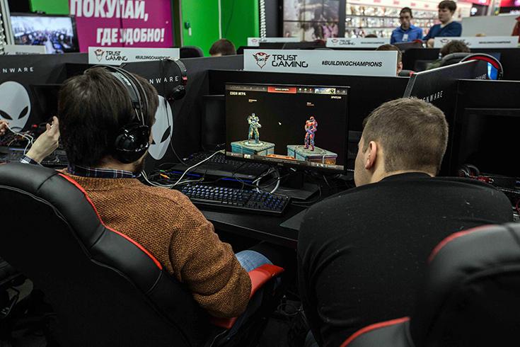 В Mediamarkt проходят турниры по киберспорту