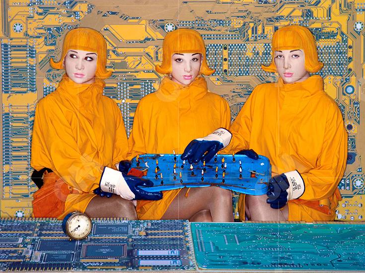 Выставка «Футурополис. Город женщин» Олафа Мартенса