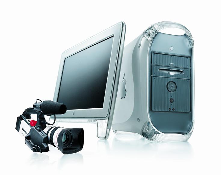 Apple Power Macintosh G4, Studio Display, Canon DM-XL1
